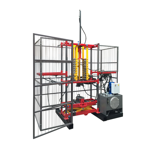 Hydrauliczna maszyna do pakowania opon COT-7