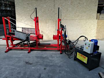 Hydrauliczna maszyna do pakowania opon COT-9
